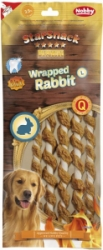 Nobby StarSnack Wrapped Rabbit L pamlsky 25cm 5ks 144g