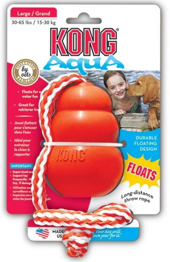 Kong Aqua Medium plovoucí hračka 8cm