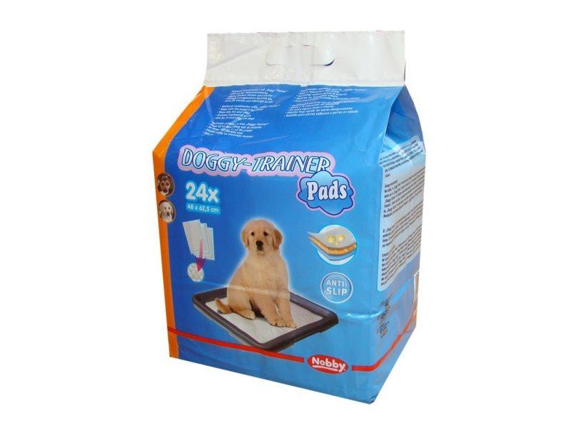 Nobby Doggy Trainer L podložky pro štěňata 62,5 x 48 cm 24 ks