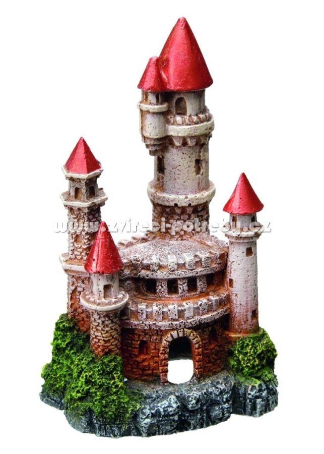 Nobby akvarijní dekorace hrad 7,5 x 6,5 x 12,5 cm