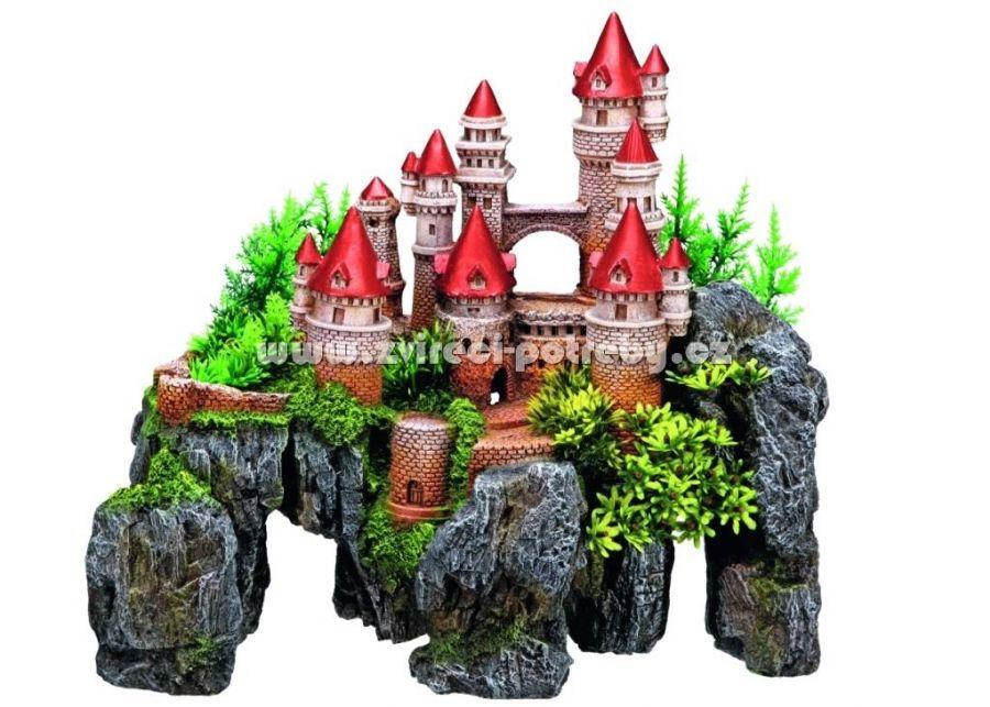 Nobby akvarijní dekorace hrad 37 x 20,5 x 31,5 cm