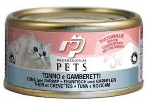 Professional Pets Naturale Cat konzerva tuňák a krevety 70g