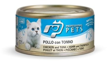 Professional Pets Naturale Cat konzerva kuře, tuňák 70g