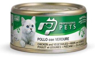 Professional Pets Naturale Cat konzerva kuře, zelenina 70g
