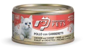 Professional Pets Naturale Cat konzerva kuře, krevety 70g
