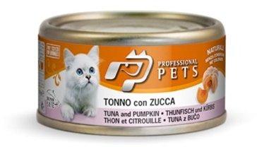 Professional Pets Naturale Cat konzerva tuňák a dýně 70g