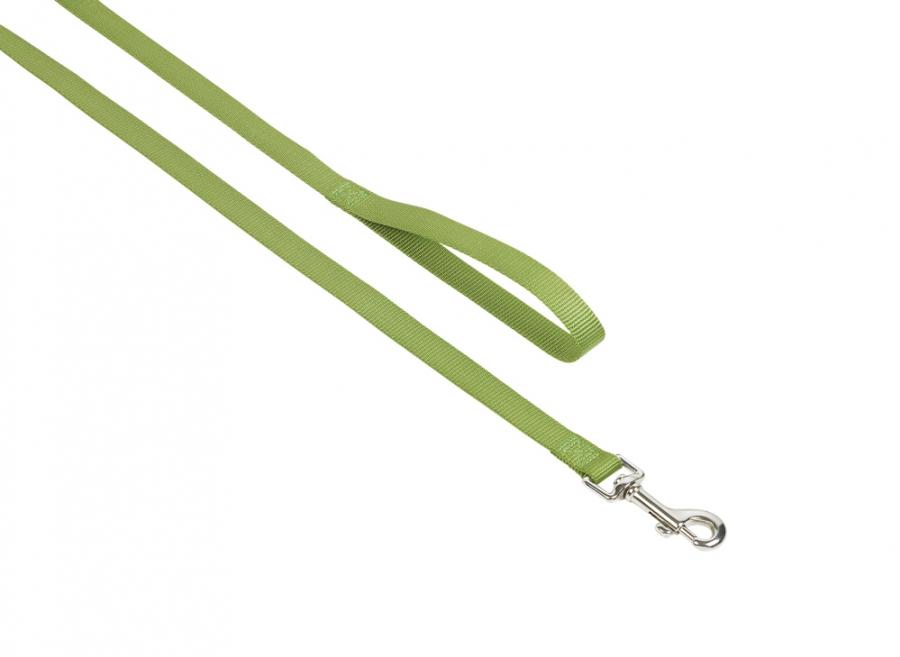 Nobby CLASSIC nylonové vodítko 120cm / 15mm zelená