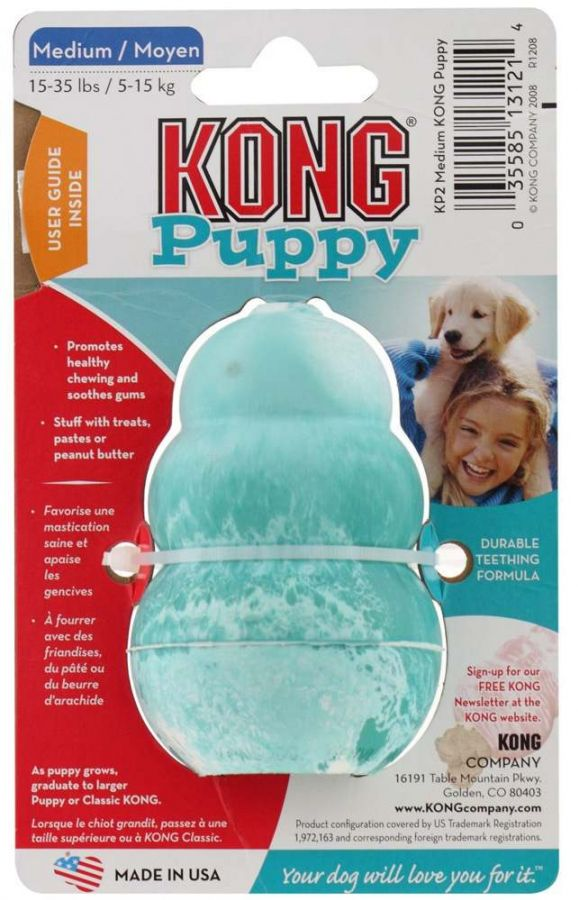Kong Puppy Classic Large gumová hračka 11cm