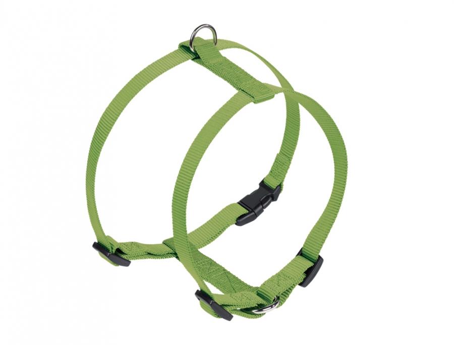 Nobby CLASSIC postroj nylon L-XL 70-90cm / 25mm zelená