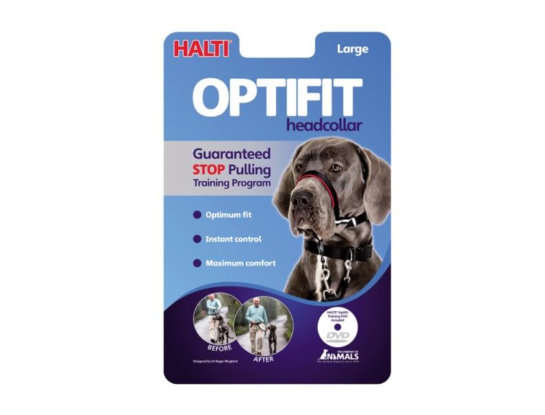 Halti Optifit originál výcviková ohlávka pro psa Large