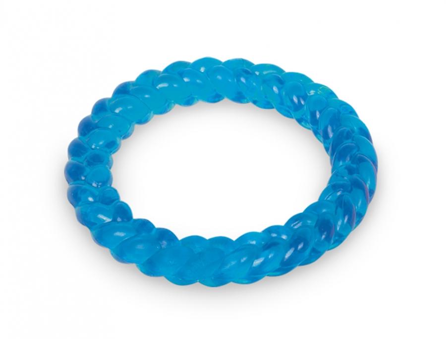 Nobby TRP Ring hračka aportovací kruh 14,5cm modrá