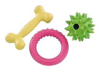 Nobby gumový startovací set hraček pro štěně