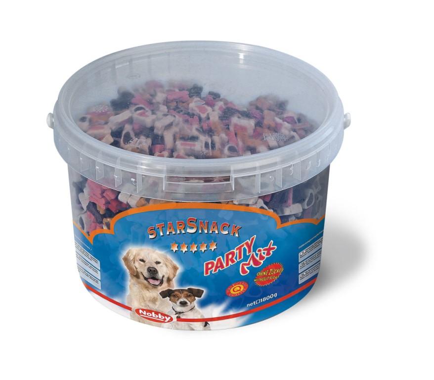 Nobby StarSnack Party Mix kyblík pamlsky 1,8kg