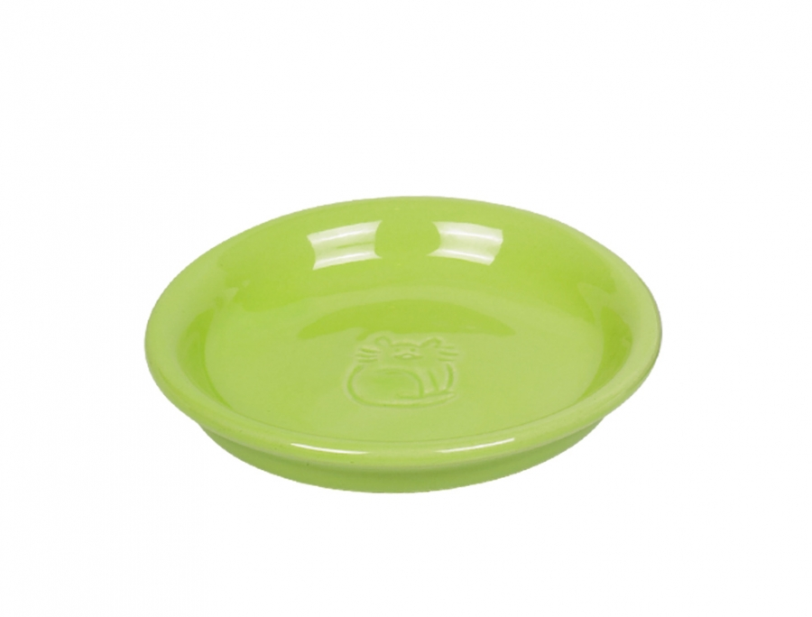 Nobby keramická miska na mléko pro kočku zelená