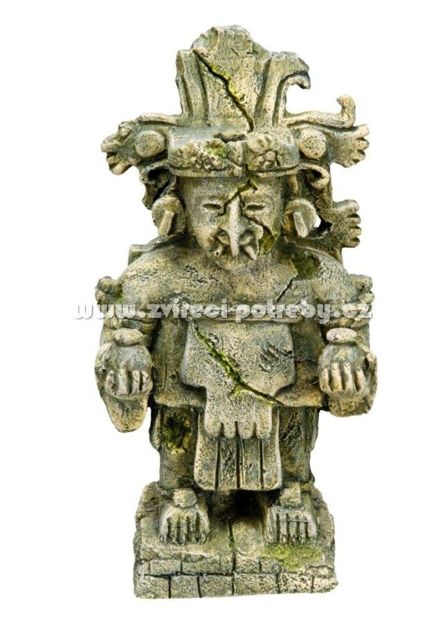 Nobby akvarijní dekorace májský bůh 10,3 x 8,5 x 19 cm