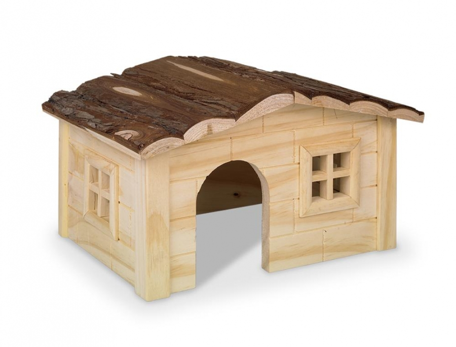 Nobby Woodland Dinky domek pro hlodavce dřevo 20 x 14 x 12 cm