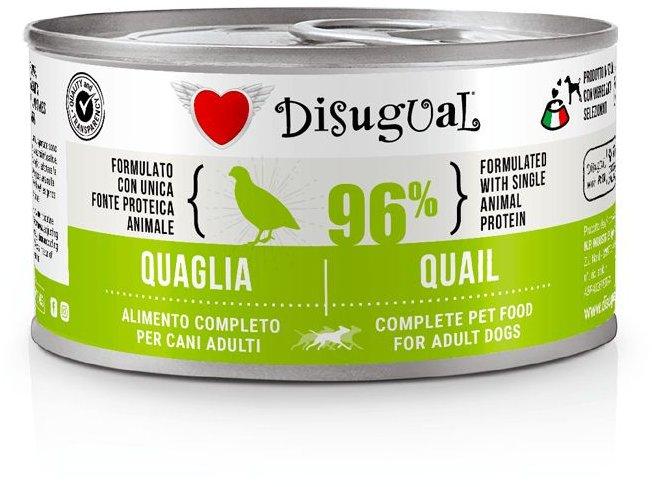 Disugual Dog Mono Quail konzerva 150g