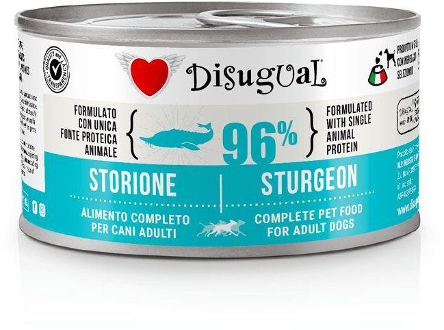 Disugual Dog Mono Sturgeon konzerva 150g