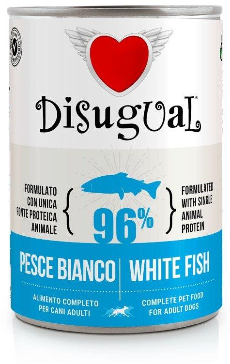 Disugual Dog Mono White Fish konzerva 400g