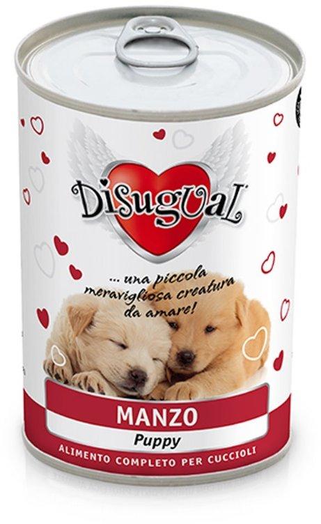 Disugual Dog Mono Puppy Beef konzerva 400g