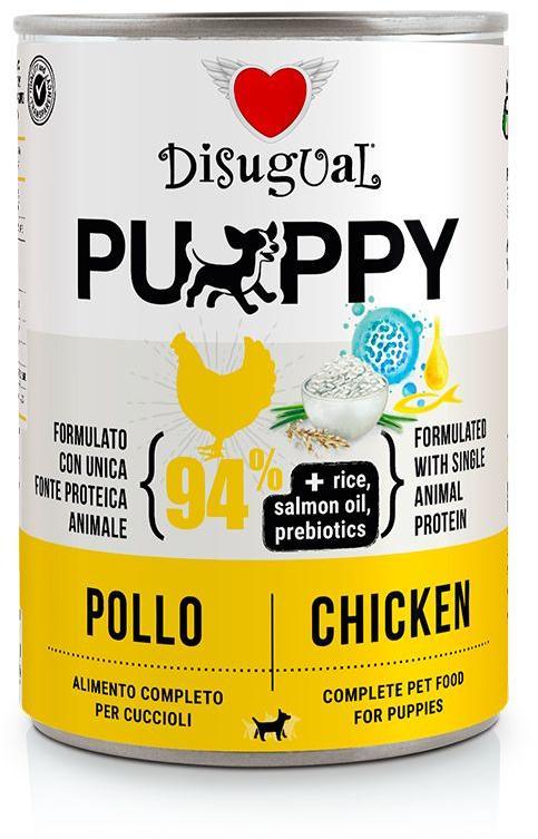 Disugual Dog Mono Puppy Chicken konzerva 400g