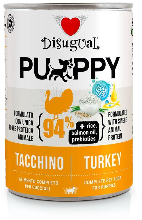 Disugual Dog Mono Puppy Turkey konzerva 400g