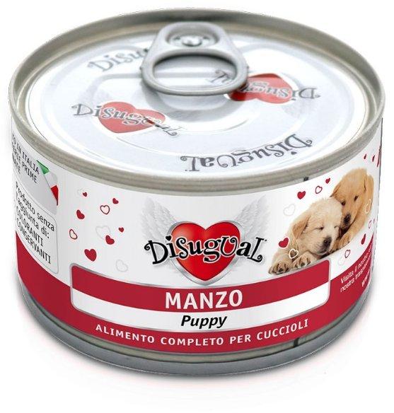 Disugual Dog Mono Puppy Beef konzerva 150g