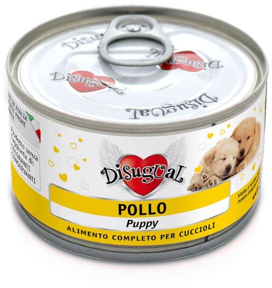 Disugual Dog Mono Puppy Chicken konzerva 150g