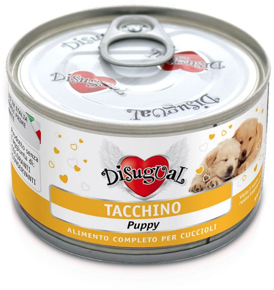 Disugual Dog Mono Puppy Turkey konzerva 150g