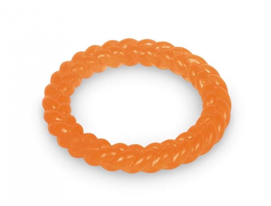 Nobby TRP Ring hračka aportovací kruh 14,5cm oranžová