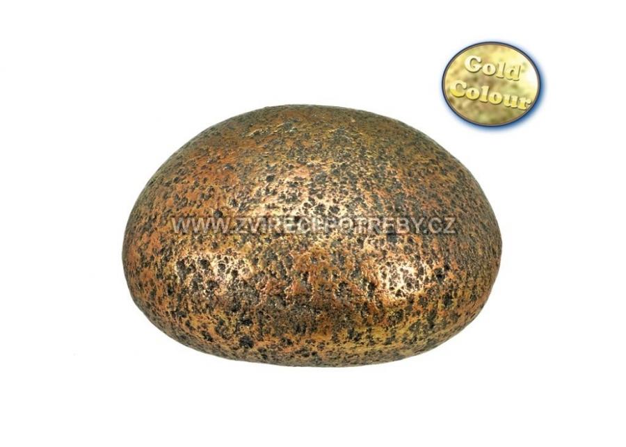 Nobby akvarijní dekorace kámen zlaté barvy 11 x 10 x 7 cm