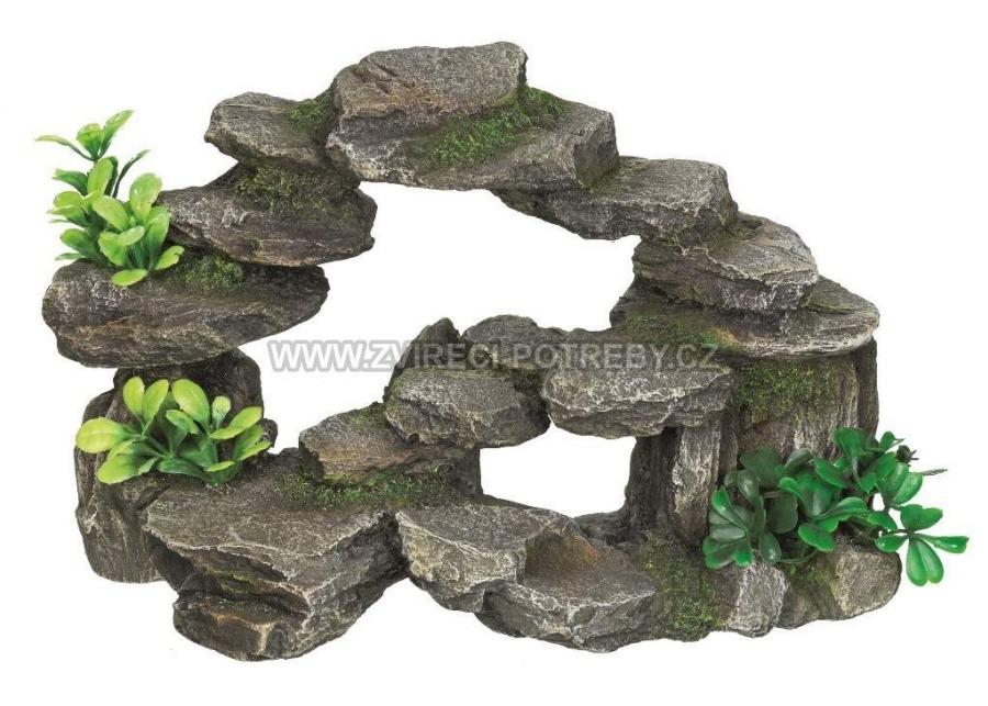 Nobby akvarijní dekorace kámen schody 26,5 x 15 x 16,5 cm