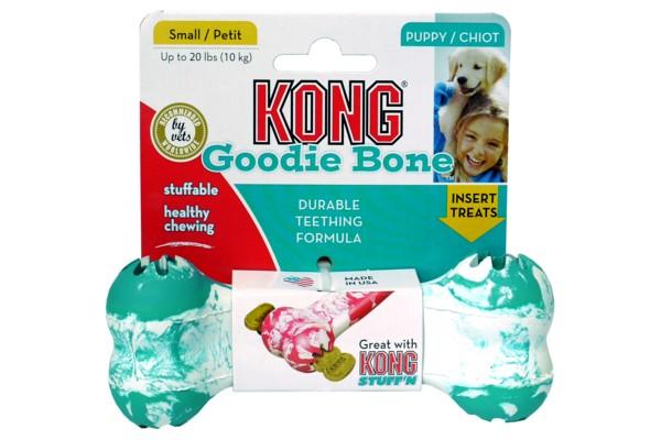 Kong Puppy Goodie Bone gumová kost 12cm