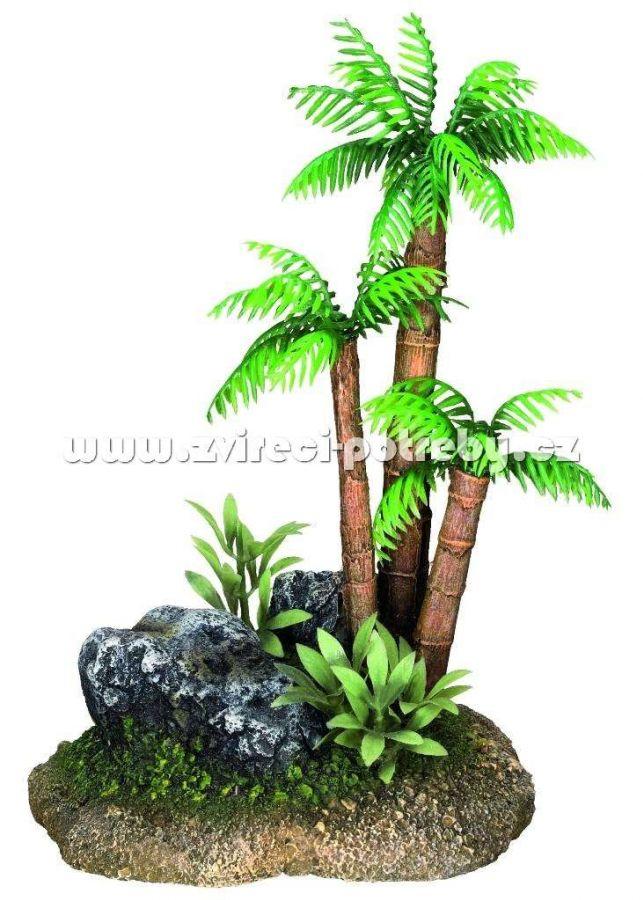 Nobby akvariní dekorace palma 12 x 9,5 x 17 cm