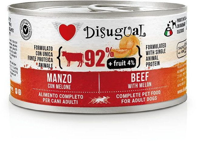 Disugual Fruit Dog Beef with Melon konzerva 150g