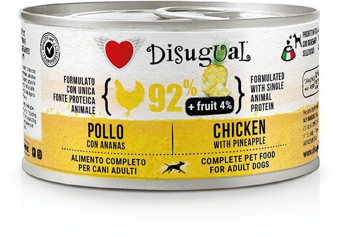 Disugual Fruit Dog Chicken with Pineapple konzerva 150g