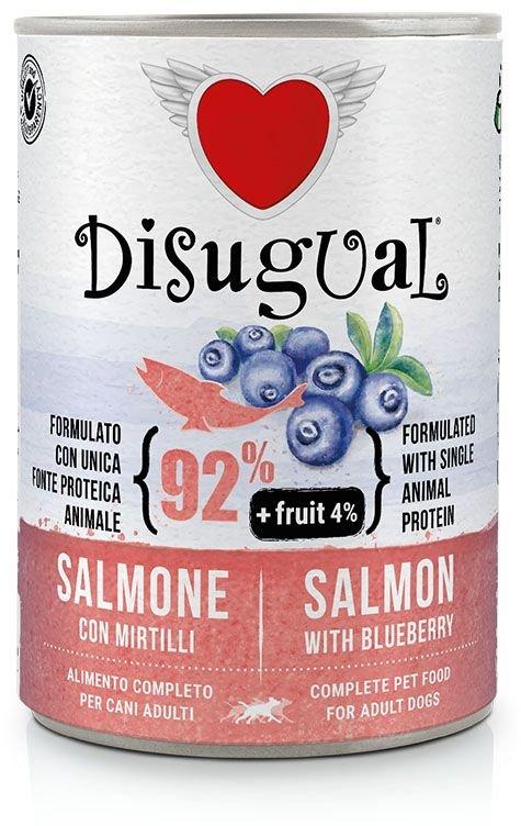 Disugual Fruit Dog Salmon with Blueberry konzerva 400g