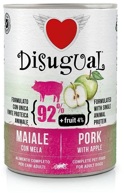 Disugual Fruit Dog Pork with Apple konzerva 400g