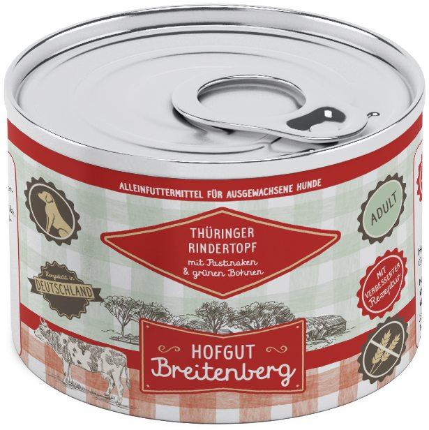 Hofgut Breitenberg Dog Thüringer Rindertopf 200g