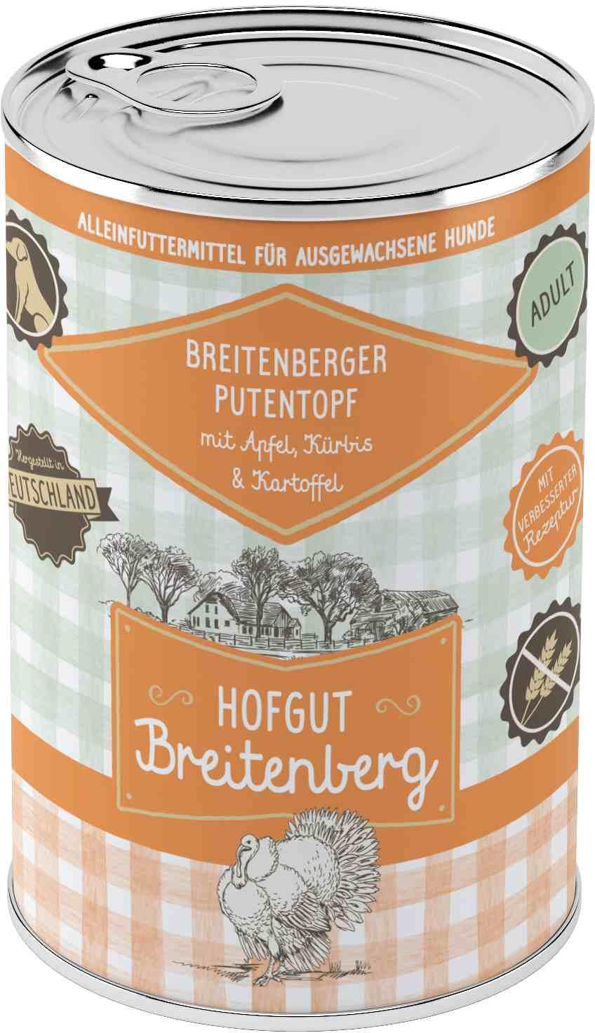 Hofgut Breitenberg Dog Putentopf 400g