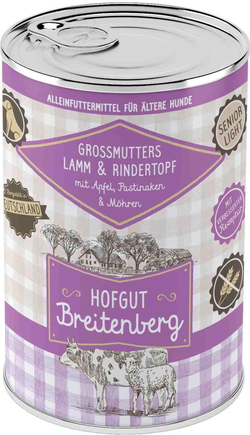 Hofgut Breitenberg Dog Grossmutters Lammtopf 400g