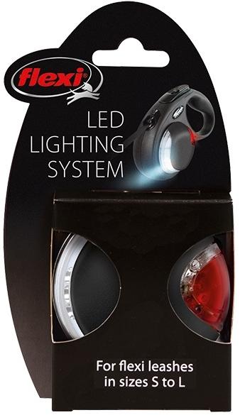 Světlo na vodítko Flexi LED Lighting System černá