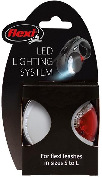 Světlo na vodítko Flexi LED Lighting System světle šedá