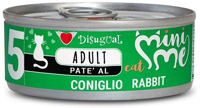 Disugual Cat Mini Me 5 konzerva králík 85g