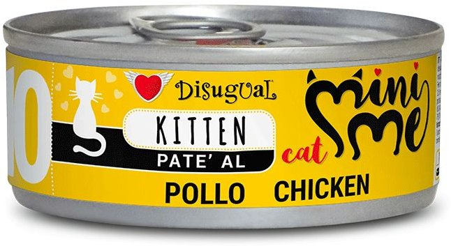 Disugual Cat Mini Me 10 Kitten konzerva kuře 85g