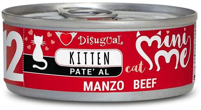 Disugual Cat Mini Me 12 Kitten konzerva hovězí 85g