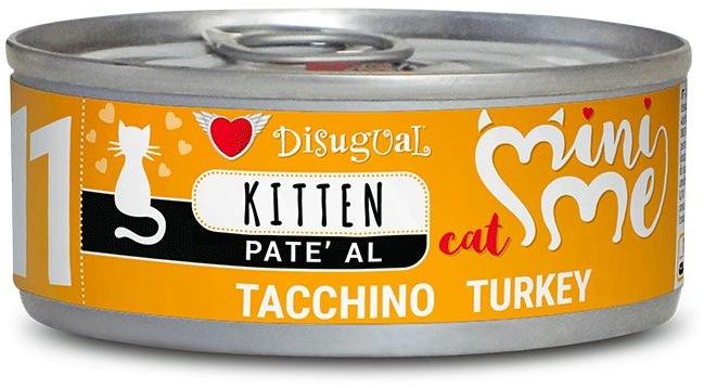 Disugual Cat Mini Me 11 Kitten konzerva krůtí 85g