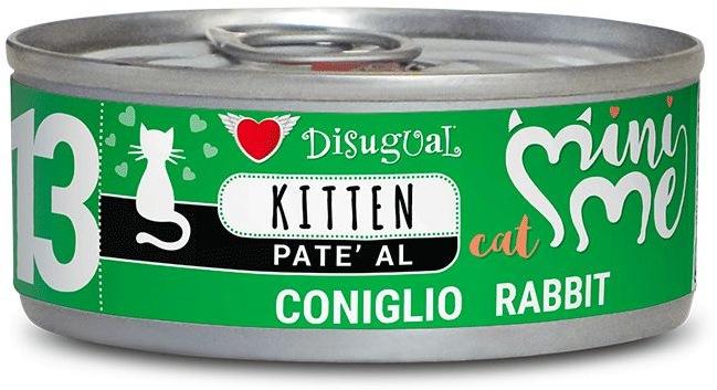 Disugual Cat Mini Me 13 Kitten konzerva králík 85g
