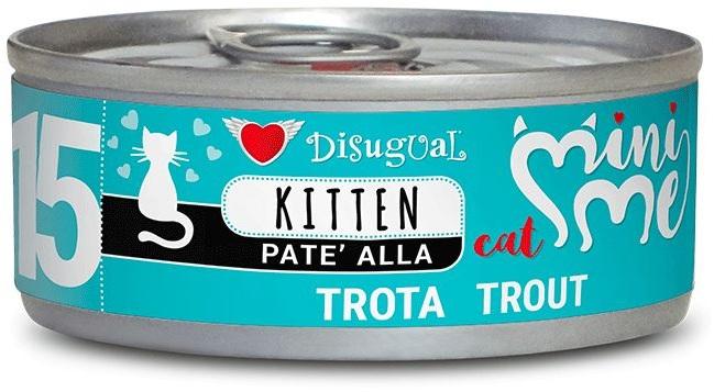 Disugual Cat Mini Me 15 Kitten konzerva pstruh 85g