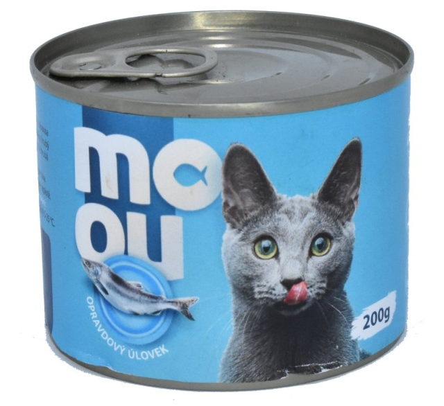 Ocean48 konzerva pro kočky mořské ryby 200g